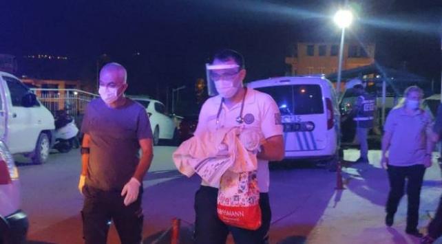 Kamyonet kasasına bırakılmış üç günlük bebek bulundu