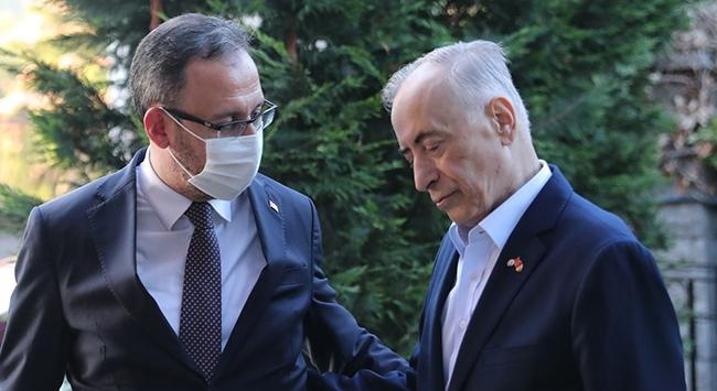 Bakan Kasapoğlundan Mustafa Cengize ziyaret