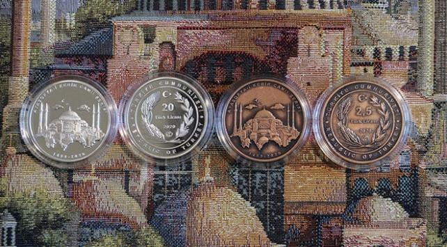 Ayasofya hatıra paraları online satışa sunulacak