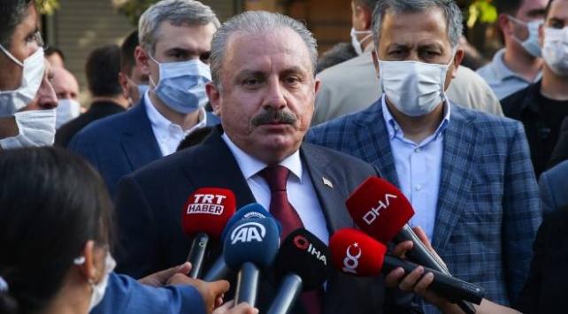 TBMM Başkanı Şentop: Ayasofyanın açılması tarihimizde en önemli dönüm noktalarından birisi olmuştur