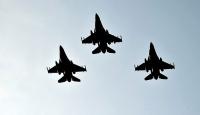 Türk F-16'ları Azerbaycan'da törenle karşılandı