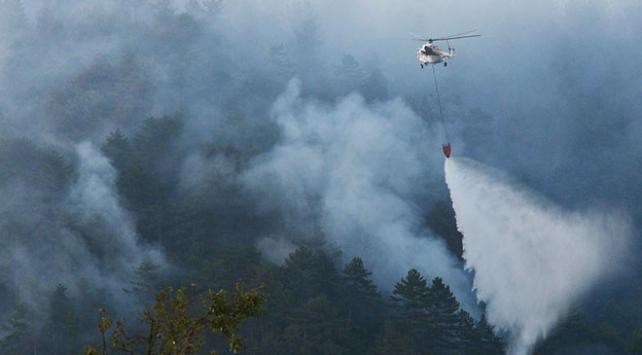 Çanakkaledeki yangın 19 saatte kontrol altına alındı