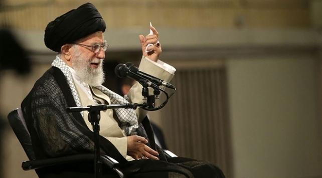 İran lideri Hamaney: ABDnin uzun vadeli hedefi İran ekonomisini çökertmek