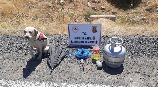 PKKlı teröristlerin tuzakladığı el yapımı patlayıcı imha edildi
