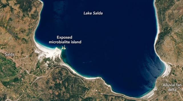 NASAdan Salda Gölü paylaşımı
