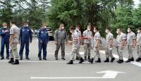 Türk ve Azerbaycan askerlerinden bayram kutlaması