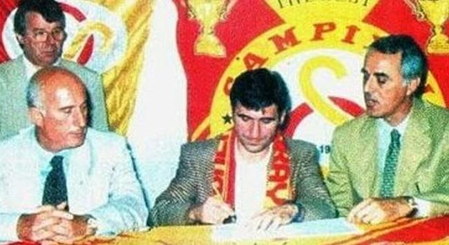 Galatasarayda Haginin ilk imzası unutulmadı