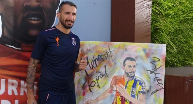 Mehmet Topala anlamlı hediye