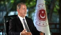 Bakan Akar: Her zaman Libya'nın toprak bütünlüğünden yanayız