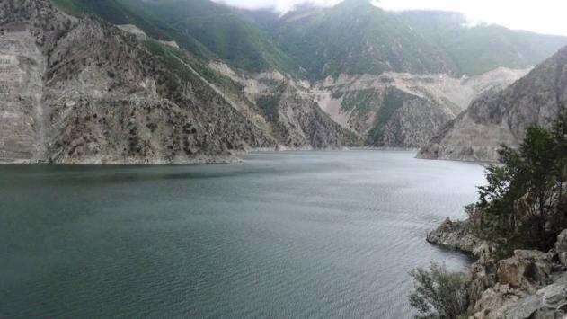 Çoruh Nehri üzerindeki 3 barajda su seviyesi azaldı