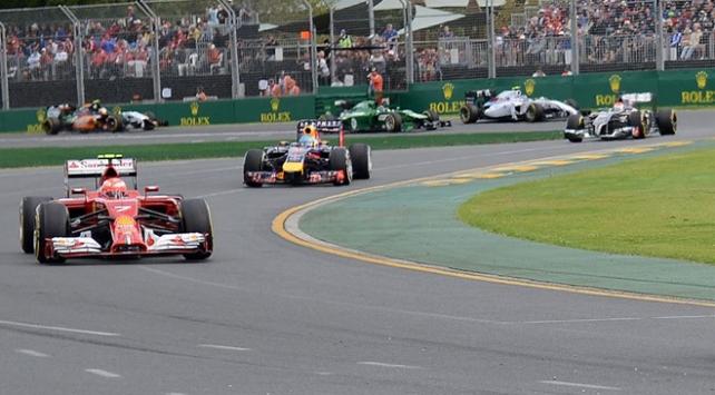 Formula 1de dördüncü yarış yarın