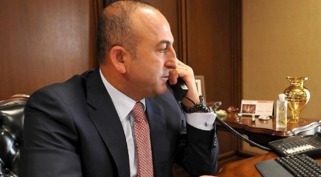 Bakan Çavuşoğlu mevkidaşlarıyla bayramlaştı