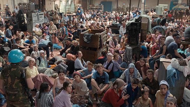 """TRT Ortak Yapımı """"Quo Vadis, Aida?"""" Avrupa'dan Sonra Amerika'yı Fethedecek"""
