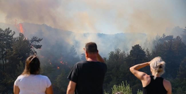 Egede alevler durmuyor: 5 ilde yangınlara müdahale sürüyor