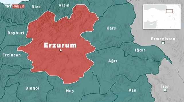 Erzurumda 3,5 büyüklüğünde deprem
