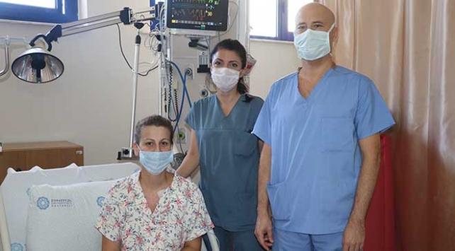 Kalbi bir günde 127 kez duran hasta sağlığına kavuştu