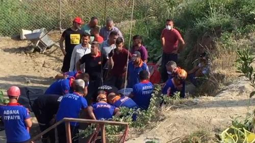 Adana'da 4 kişi su kuyusunda can verdi