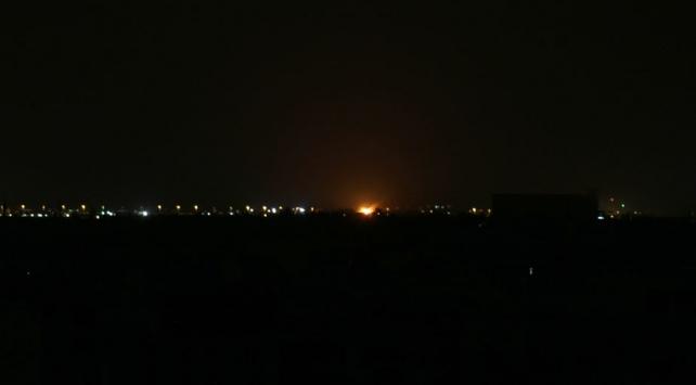 İsrail, Şam'ın güneyindeki rejim hedeflerini vurdu