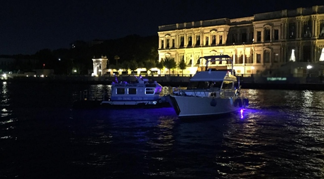 İstanbul Boğazındaki teknelere koronavirüs denetimi