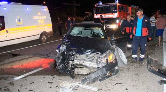 Sivasta trafik kazası: 3 yaralı
