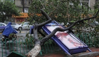 Çin'de Hagupit tayfunu etkili oluyor