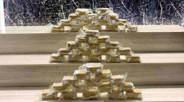 Bitliste durdurulan kamyonetten 24,2 kilogram uyuşturucu çıktı