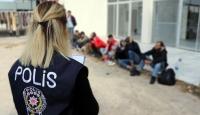 Ankara'da 24 düzensiz göçmen yakalandı