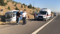 Ankara'da yolcu otobüsü ASELSAN servisine çarptı: 1 ölü, 8 yaralı