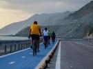 Hatay'da deniz ile dağ arasında 26 kilometrelik bisiklet yolu