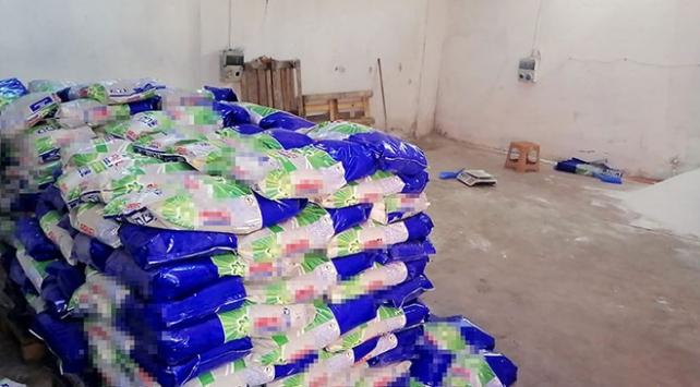 İstanbulda 5,6 ton kaçak deterjan ele geçirildi