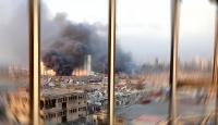 Lübnanlılar patlama dehşetini böyle yaşadı