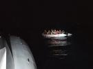 Türk karasularına geri itilen 82 sığınmacı kurtarıldı