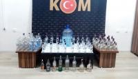 Bursa'da sahte içki operasyonunda iki kişi yakalandı