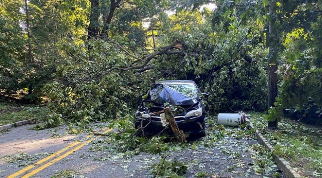 ABDde Isaias tropikal fırtınası etkili oluyor