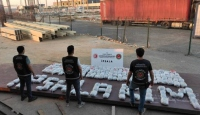İpsala Gümrüğü'nde 227 kilogram esrar ele geçirildi