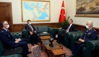 Bakan Akar, ABD Büyükelçisi Satterfield'i kabul etti