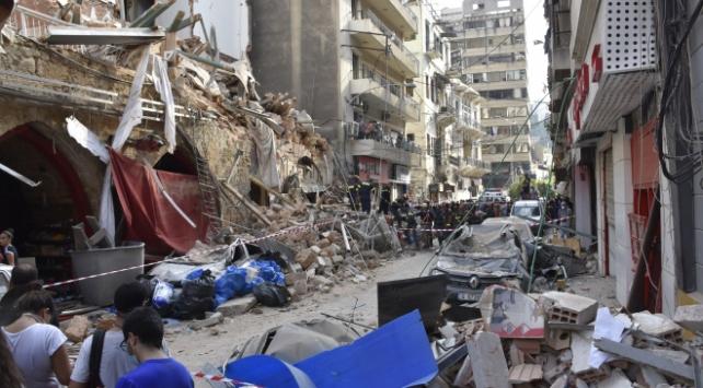 Lübnanda patlamadan zarar görenlere kredi desteği sağlanacak