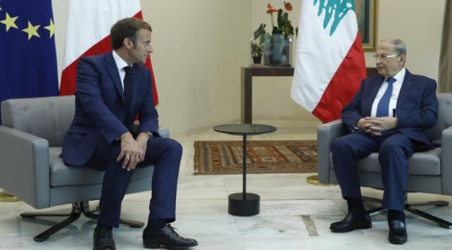 Lübnan Cumhurbaşkanı Avn, Macrondan patlama anının uydu görüntülerini istedi