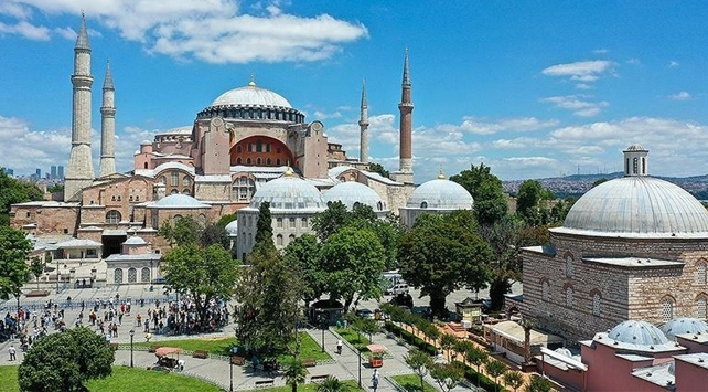 Temmuz ayında en çok Ayasofya Camii konuşuldu