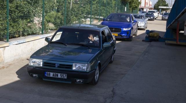 """1996 model """"Doğan"""" ile Avrupa turu"""