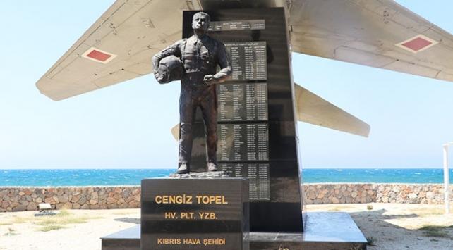 Cengiz Topel'in hatıraları KKTC'deki anıtında yaşatılıyor