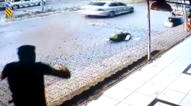 Polisin dur ihtarına uymadı, kaçarken çocuğa çarptı
