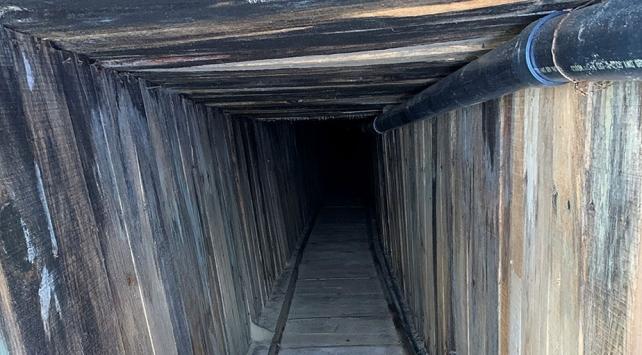 ABD-Meksika sınırında ileri teknoloji kaçak tünel