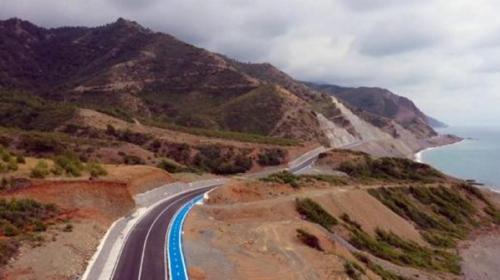 Türkiye'nin en uzun ve en zevkli bisiklet parkuru havadan görüntülendi