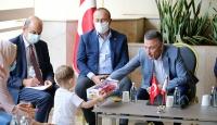 Beyrut'ta Türk heyetine coşkulu karşılama