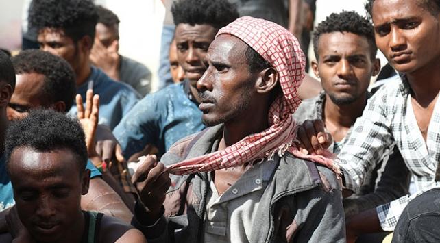 Yemende 6 ayda 7 bin düzensiz göçmen yakalandı
