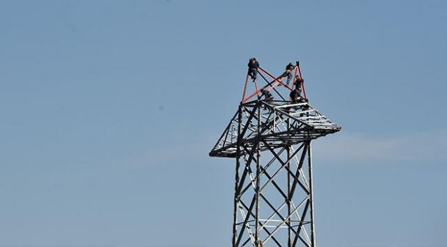 Ankaranın elektrik hatları yenileniyor
