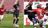 Burak Yılmaz Lille'de ilk maçına çıktı