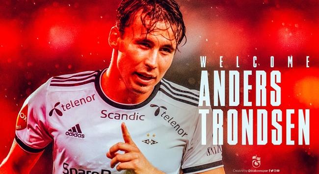 Trabzonspor Trondsen ile sözleşme imzaladı