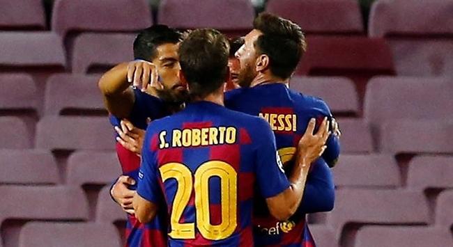 Barcelona da çeyrek finalde